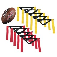 Franklin® Youth 10 Player Flag Football Ball and Flags Pack