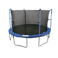 Enclosed Trampoline, 14'