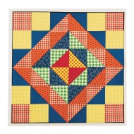 Quilt Square Mosaic Craft Kit (Pack of 32)