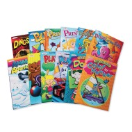 Coloring and Activity Books (Pack of 12)