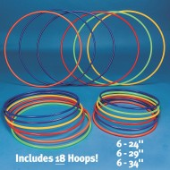 Spectrum™ Economy Hoop Pack (Pack of 18)