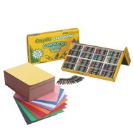 Construction Paper Coloring Easy Pack