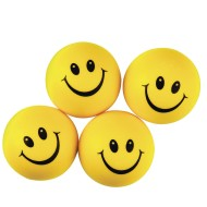 Smiley Face Stress Squeeze Balls (Pack of 24)