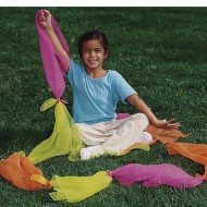 Nylon Juggling Scarves (Set of 12)