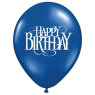 Happy Birthday Superscript Balloons, 11