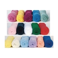 Color Splash Acrylic Yarn  3oz., Lt.Rose