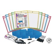 Dry Erase Pocket Sleeve Class Pack