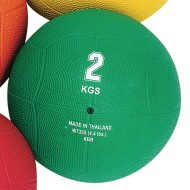 Rubber Medicine Ball, 4.4 lb
