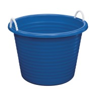 United Solutions® 17-Gallon Plastic Tub with Rope Handles (Pack of 6)