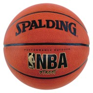 Spalding® NBA Street Rubber Basketball