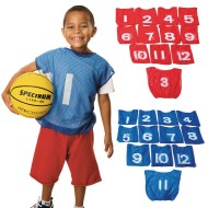 Spectrum™ Youth Numbered Mesh Pinnies (Pack of 12)