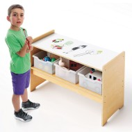 Whitney Brothers® Play Table with Storage and Write & Wipe Top