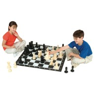 Jumbo Chess Set with 8-1/2