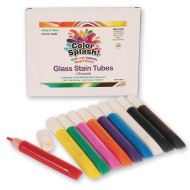 Color Splash!® Gel Glass Stain Tubes (Set of 10)
