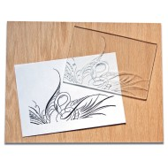 Clear Carve Linoleum, 6in x 8in (Pack of 12)