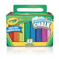 Crayola® Washable Sidewalk Chalk (Box of 48)