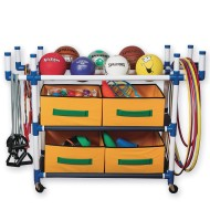 S&S® 3 Level Cart with 4 Baskets