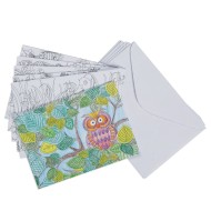 Notecards to Color (Pack of 24)