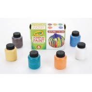 Crayola® Pumpkin Paint Set, Autumn Colors (Set of 6)