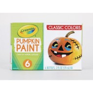 Crayola® Pumpkin Paint Set, Classic Colors (Set of 6)