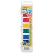 Crayola® Washable Watercolors, 8 Colors