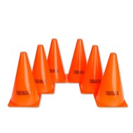 Orange Spectrum™ Cones, 9
