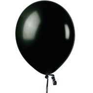 Jeweltone Balloons , Onyx Black, 11