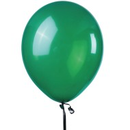Jeweltone Balloons, Emerald Green, 11