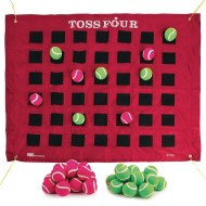 Toss Four Game Target and Balls