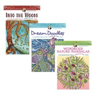 Creative Haven® Hidden Pictures Coloring Books (Set of 3)