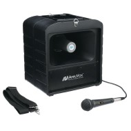 AmpliVox® Mega Hailer PA System with Microphone