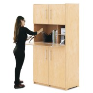 Whitney Brothers® Teacher's Workstation Cabinet