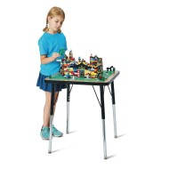 Jonti-Craft® Adjustable Height Building Block Table for Lego® & Duplo® Brick Styles