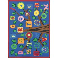 Joy Carpets® Alphabet Leaves Classroom Rug