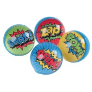 Super Hero Bounce Balls (Pack of 12)