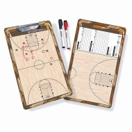 GoSports Premium 2 Sided Dry Erase Basketball Coaches Board