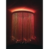 Superactive Fiber Optic Corner Shower