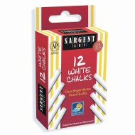 Sargent Art White Chalk (Pack of 12)