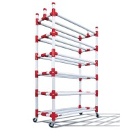 Duracart 6-Shelf Ball Wall