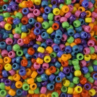 Pony Bead Mix, Bright Colors
