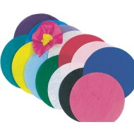 Tissue Paper Circles Pack, 4