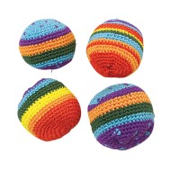 Rainbow Kick Sacks (Pack of 12)
