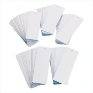 White Bookmarks Value Pack (Pack of 500)