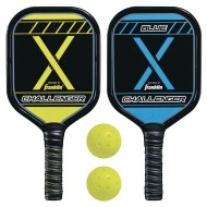 Franklin® Pickleball-X® Performance Aluminum 2 Player Paddle and Ball Set