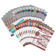 Large-Print Word Search Puzzles (Pack of 12)