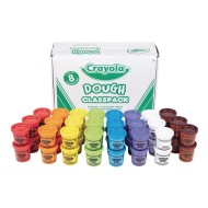 Crayola® Dough Classpack®, 3 oz. Tubs (Pack of 48)