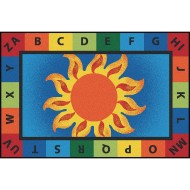 Carpets for Kids® Alphabet Sunny Days Value Rug
