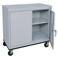Sandusky® Transport Work Height Mobile Cabinet, 36