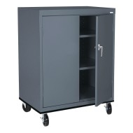 Sandusky® Transport Work Height Mobile Cabinet, 48