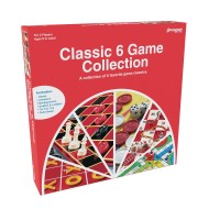 Pressman® 6-in-1 Classic Game Collection